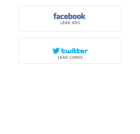 Automatically capture leads from Social Ad Integration
